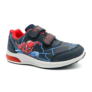 Αθλητικό με φωτάκια Spiderman 311-9341 Μπλε