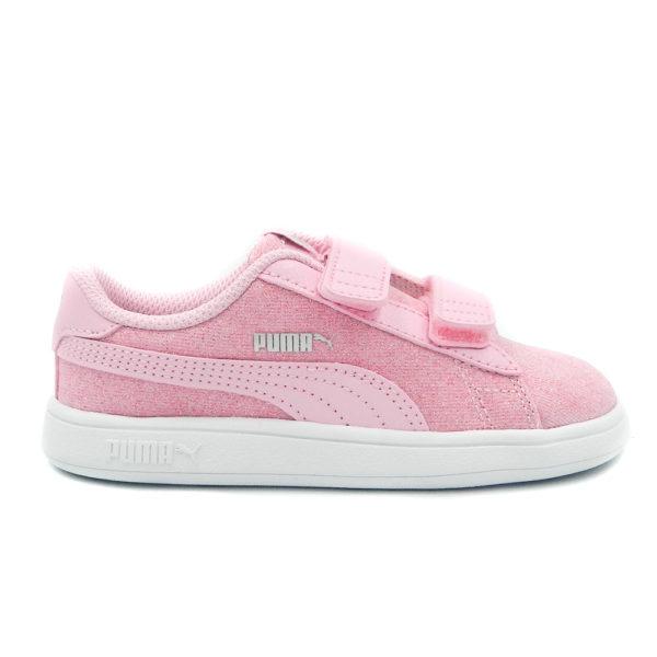 Puma Smash v2Glitz 367380-19/ 367378-19 Ροζ