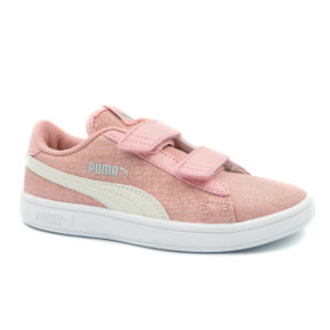 Puma Smash v2Glitz 367380-09/ 367378-09 Ροζ