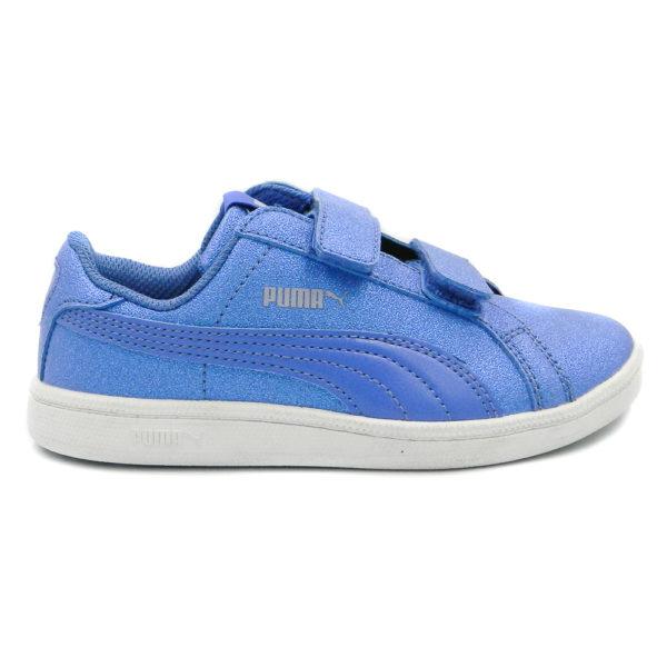 Puma Smash Glitz 363992-02 Μπλε