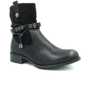 Μποτάκι 6410 Μαύρο