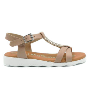 Oh! My Sandals Πέδιλο 4275 Nude