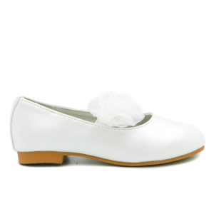 Μπαλαρίνα Μ7130/1 Λευκή