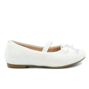 Μπαλαρίνα Μ7140/1 Λευκή