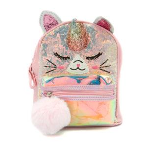 Παιδική τσάντα πλάτης Β010 Μονόκερος Ροζ