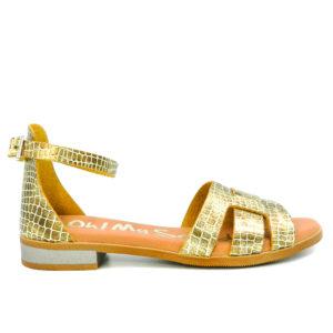 Oh! My Sandals Πέδιλο 4816 Χρυσό