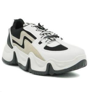 Αθλητικό 3451 Λευκό Μαύρο