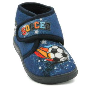 Παντοφλάκι GD21555 Soccer Μπλε